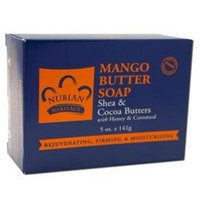 Nubian Heritage Bar Soap Mango Butter - 5 oz
