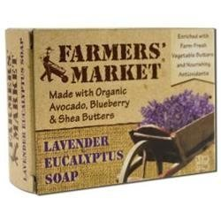 Lavender Eucalyptus Natural Bar Soap by Farmer's Market - 5.5oz.