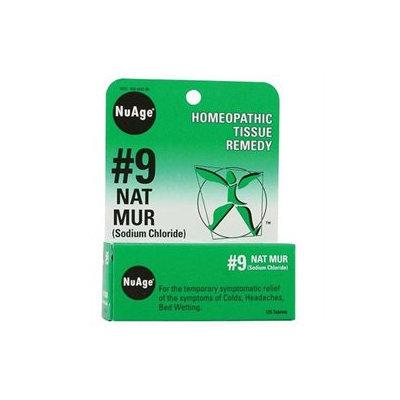 Nuage Labs 0346627 Hylands NuAge No. 9 Natrum Mur - 125 Tablets