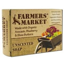 Farmer's Market Bar Soap Unscented 5.5 oz