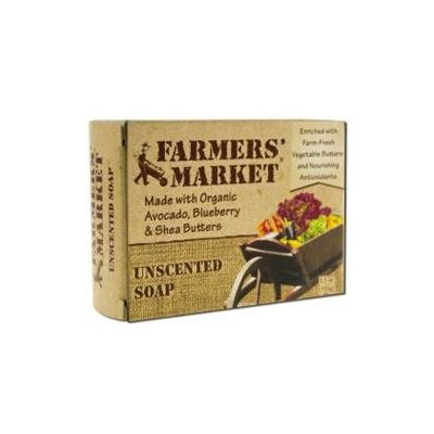 Farmer's Market Bar Soap Unscented 5.5 oz
