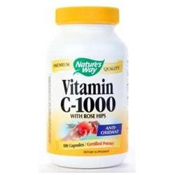tures Way Nature's Way Vitamin C-1000 with Rose Hips Capsules