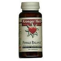 Kroeger Herbs - Herbal Combination Female Balance - 100 Capsules