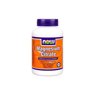 NOW Foods - Magnesium Citrate - 120 Vegetarian Capsules
