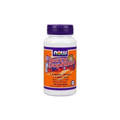 NOW Foods Berrydophilus Chewables, Natural Berry - 1 ct.
