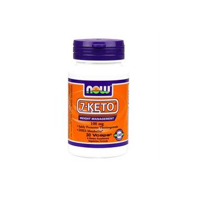 NOW Foods - 7-Keto 100 mg. - 30 Vegetarian Capsules
