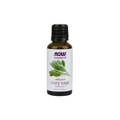 NOW Foods - Clary Sage Oil - 1 oz.