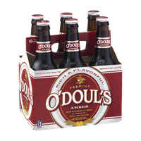 O'Doul's Amber Non-Alcoholic Malt Beverage - 6 PK