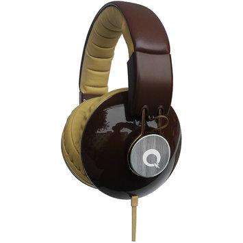Club Electronics Quantum FX DJ Style Stereo Headphones Brown