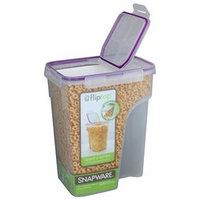 Snapware Jumbo Flip Top Cereal Keeper, Rectangle - 23 Cup
