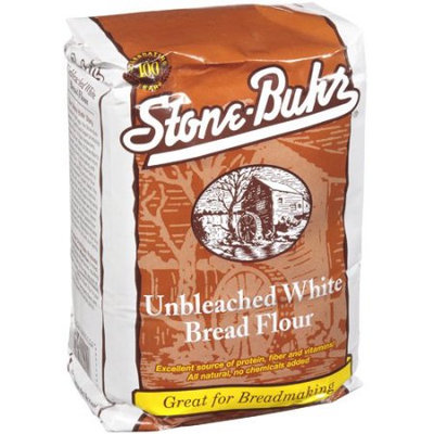 Jog. Distribution, Inc. Stone-Buhr Unbleached White Flour, 5 lb