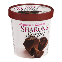 Sharon's Sorbet Dutch Chocolate
