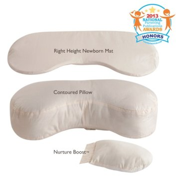 BornFree Bliss Feeding Pillow, Ivory, 1 ea