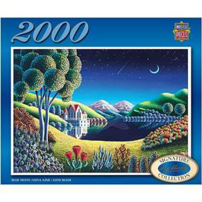 Masterpieces Puzzles Amy Rumsey Blue Moon 2000 Pcs Ages 13+