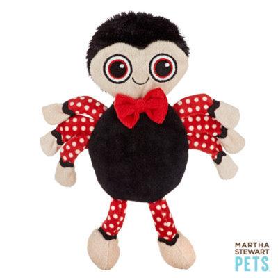 Martha Stewart PetsA Flat Spider Dog Toy