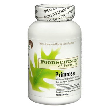 FoodScience of Vermont Primrose 500 mg Dietary Supplement Capsules