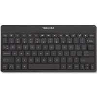 Toshiba PA3959U 80-Key Bluetooth Wireless Keyboard w/17 Android Hot Keys-Black