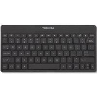 Toshiba PA3959U 80-Key Bluetooth Wireless Keyboard w/17 Android Hot Keys-Black