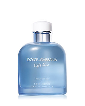 D & G Dolce & Gabbana Light Blue Beauty In Capri Pour Homme Eau De Toilette 4.2-Oz. Limited Edition