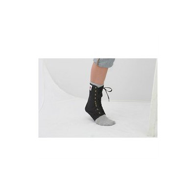 Core Lace Up Ankle Support Black