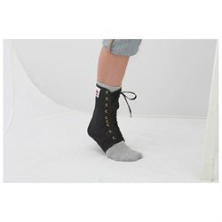 Core Products Lace-Up Ankle Support - Black