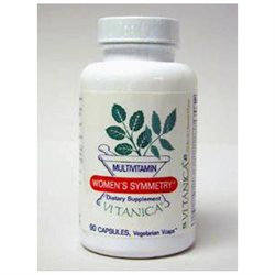 Vitanica Women's Symmetry Multivitamin, Capsules, 90 ea