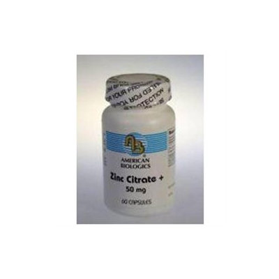 American Biologics Zinc Citrate - 60 Capsules - Zinc