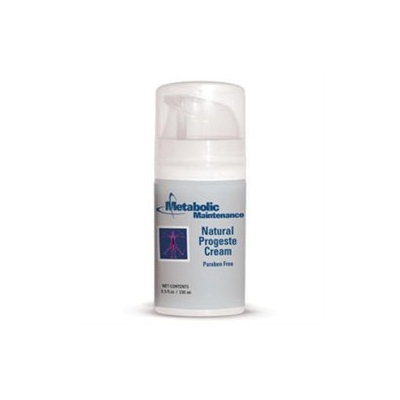 Metabolic Maintenance Natural Progeste Cream - 3.5 oz