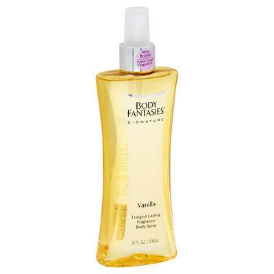 Body Fantasies Signature Vanilla Fragrance Body Spray, 8 fl oz