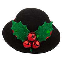 Top PawA Pet HolidayTM Jingle Bell Top Hat Hair Clip