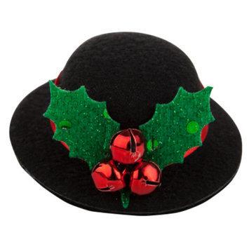 Top PawA Pet HolidayTM Jingle Bell Top Hat Hair Clip