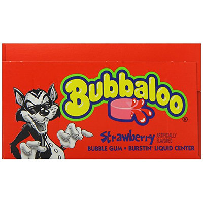 Bubbaloo® Strawberry Burstin' Liquid Center Bubble Gum
