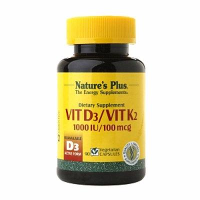 Nature's Plus Vitamin D3 & Vitamin K2
