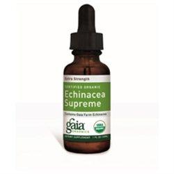 Gaia Herbs, Echinacea Supreme, Certified Organic, 4 Fl Oz (120 Ml)