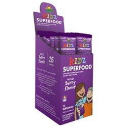 Amazing Grass - Kidz SuperFood Powder Wild Berry - 15 Packets