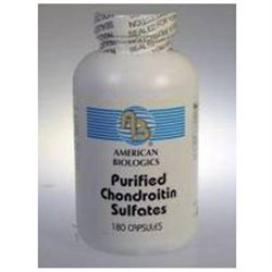 American Biologics Chondroitin Sulfates - 180 Capsules - Glucosamine & Chondroitin