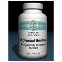 American Biologics Advanced Aminos - 100 Capsules - Amino Acid Complex
