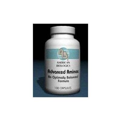 American Biologics Advanced Aminos - 100 Capsules - Amino Acid Complex