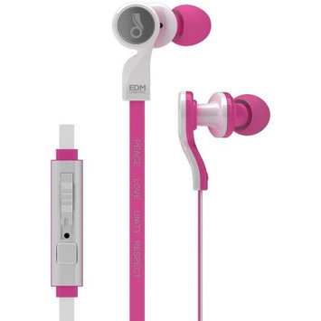 MEElectronics EDM Universe D1P In-Ear Headphones with Inline Microphone (PINK)