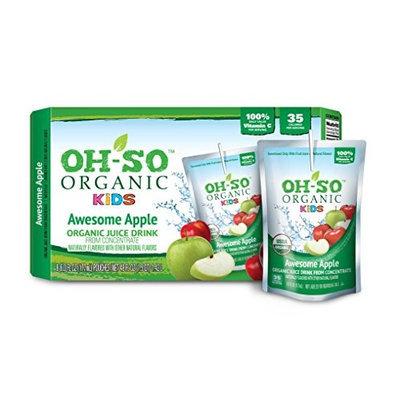 Oh-so Organic Kids JCE DRNK, OG2, AWESOME APPL, (Pack of 5)