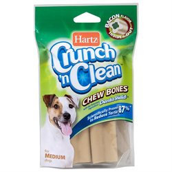 Hartz 2 Count Crunch 'N Clean Chew Bones