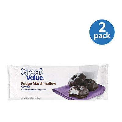 Great Value : Fudge Marshmallow Cookies