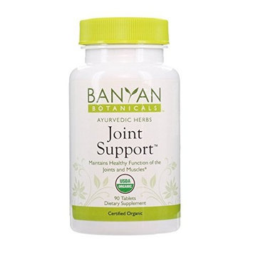 Banyan Botanicals Joint Support - Certified Organic, 90 Tablets - Maintains Healthy Function of the Joints and Muscles