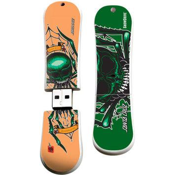 EP Memory Action Sport Drives 16GB Santa Cruz USB Snow Drive, Spider
