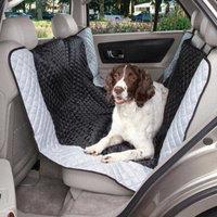 Guardian Gear Polyester Fairfield Hammock Pet Car Seat Cover, Black