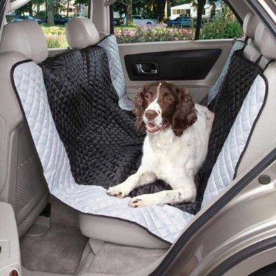 Guardian Gear Polyester Fairfield Hammock Pet Car Seat Cover, Black
