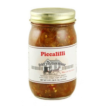 Byler's Relish House Homemade Amish Country Piccalilli 16 oz.