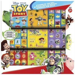 Sticker Roll - Disney - Toys Story New 1000 Decals Toys Games dtsss1