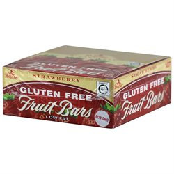 Betty Lou's Gluten Free Fruit Bars Strawberry - 12 Bars