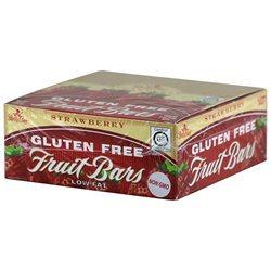 Betty Lou's Gluten Free Fruit Bars Strawberry - 12 Bars